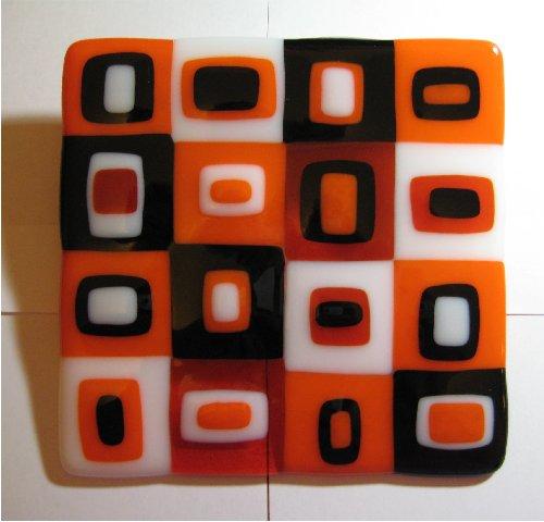 Orange Squares 1